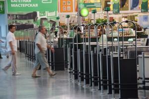 Система защиты от краж покупателей в магазине самообслуживания
