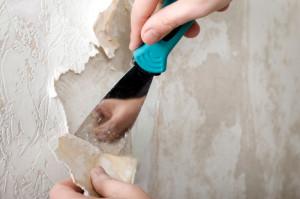 Как убрать старые обои со стен
