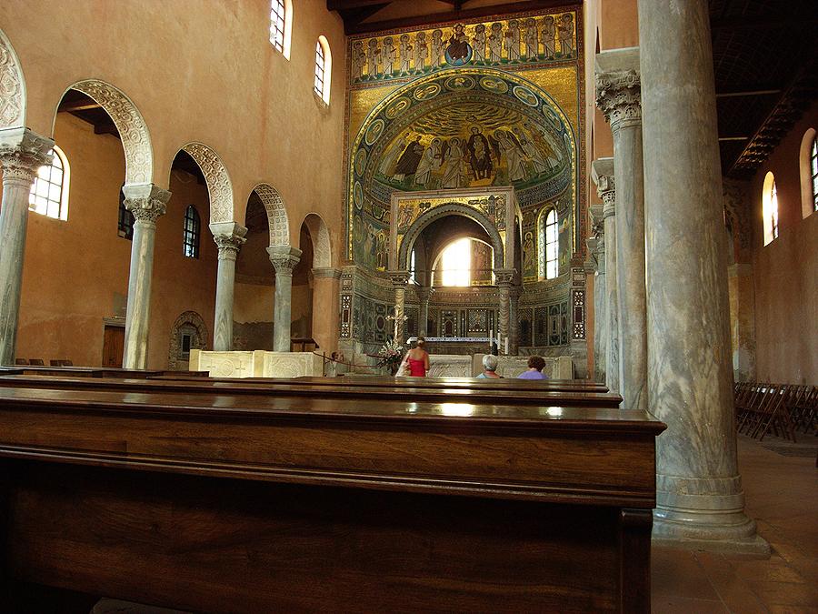 Пореч. Ефразийская базилика
