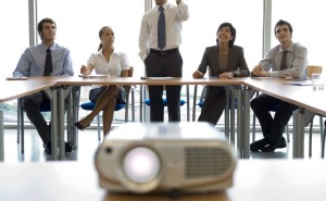 Проведение деловых презентаций