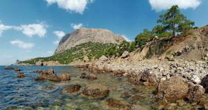 Пляжи Крыма, юго-восточное побережье
