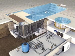 Комплектующие для бассейнов: основные и дополнительные