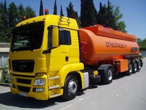 Доставка опасных грузов, перевозки наливных грузов