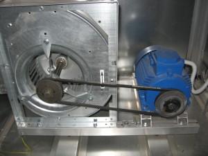 Электродвигатели и ременная передача