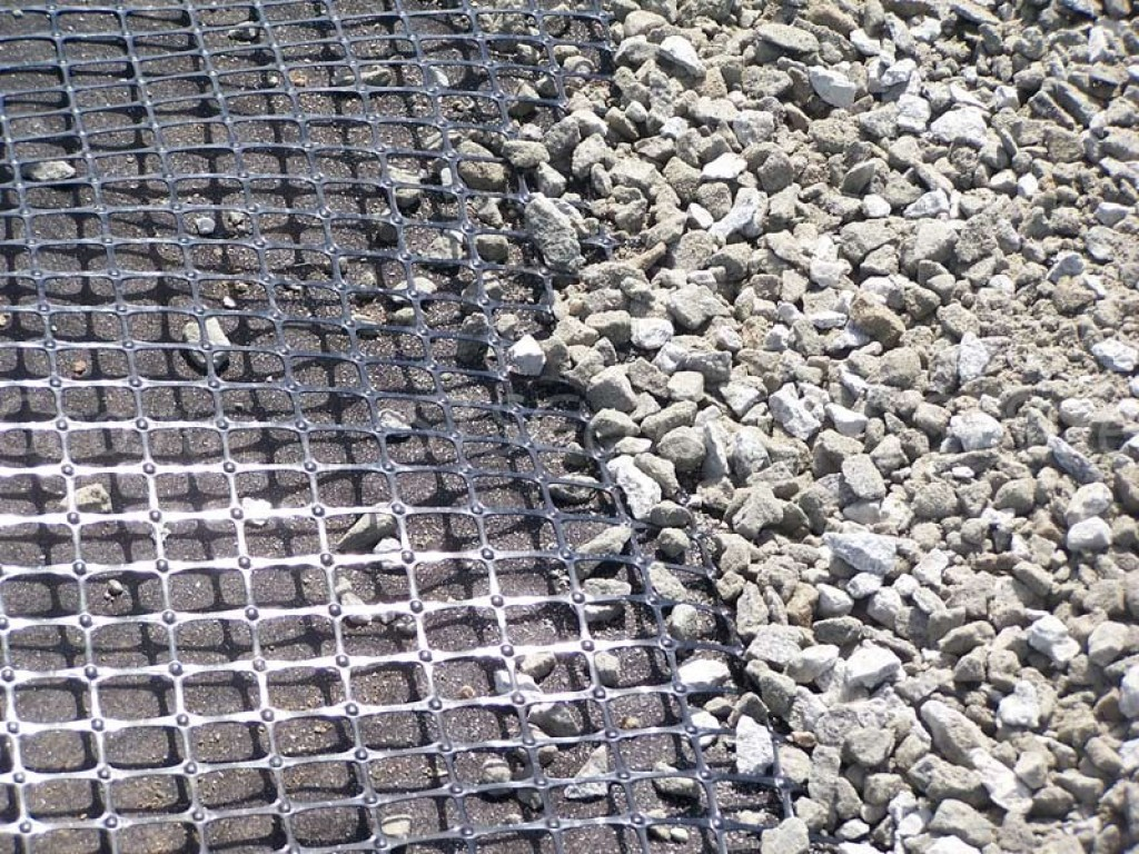 геосетка для дорожного строительства