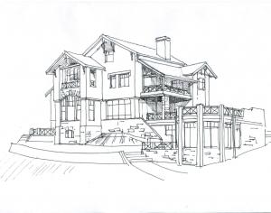 Особенности индивидуального проектирования загородного дома