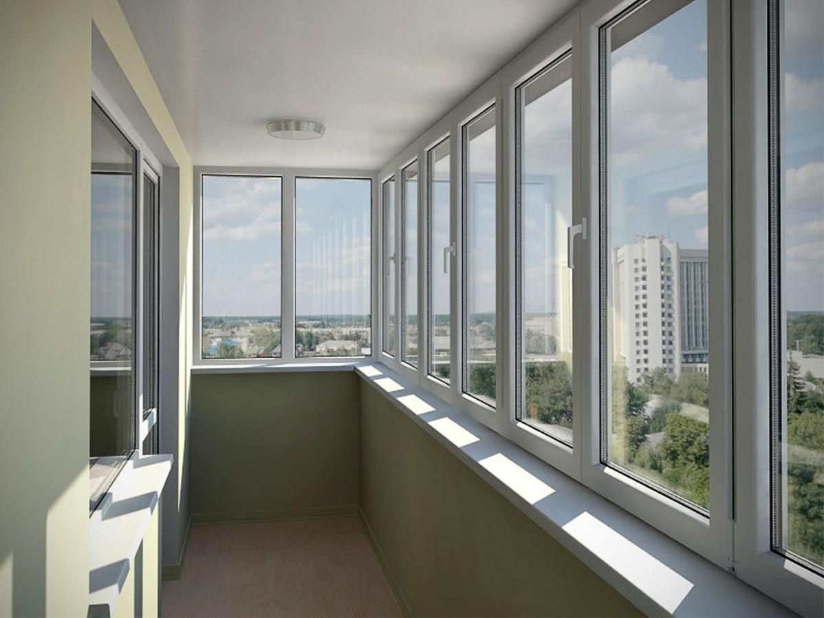 Окна Дешево - пластиковые окна дешево, остекление балконов 37