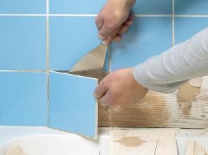 Плесень в ванной: удаляем споры со швов плитки