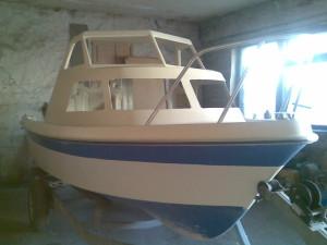 Ремонт корпуса катера или лодки из стеклопластика