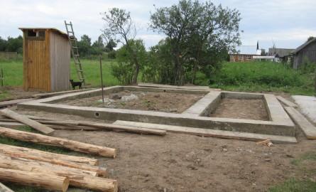 Баня своими руками 6х4 фундамент 27
