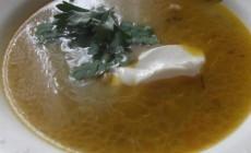 Рецепт сытного супа со сметанкой и солеными огурчиками по-польски